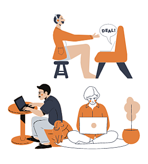 Connecting your remote workers with people working at the office