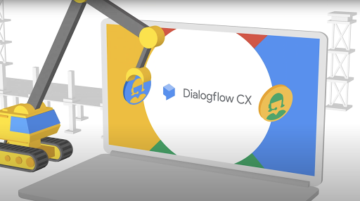 DialogFlow CX Image rights all to Google, all rights reserved
