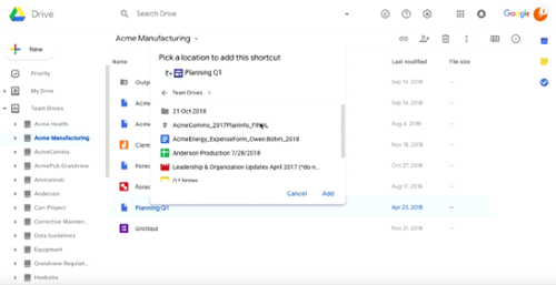 Drive announcements Next '19 G Suite-1