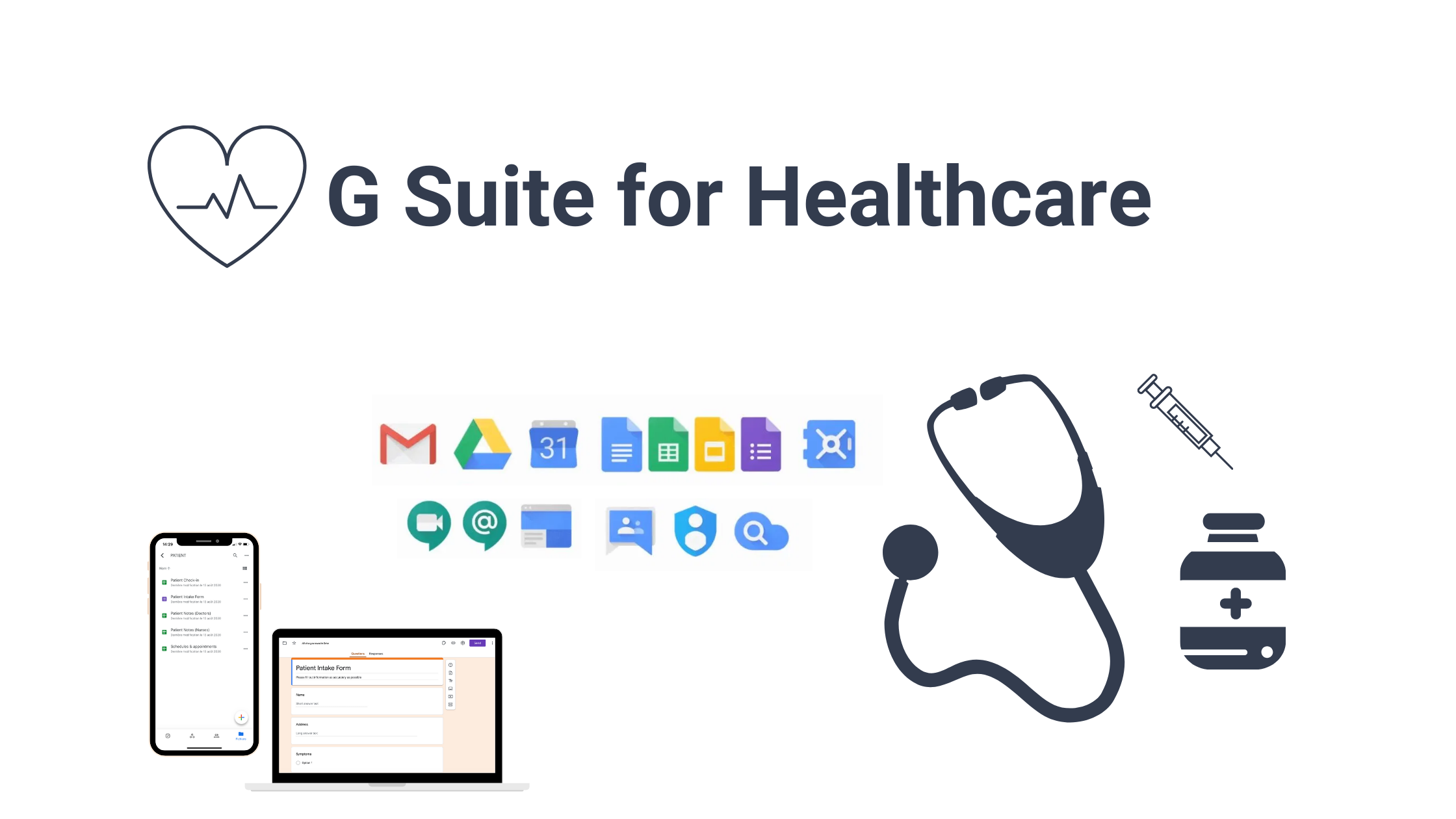 G Suite for healthcare - top Tips