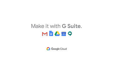 G Suite visual make it with G Suite by Google Cloud