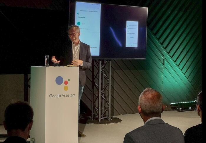 Google Assistant launch Belgium ThierryGeerts