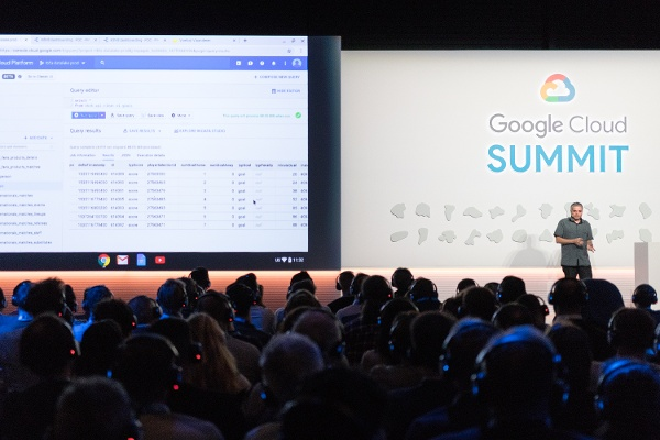 Google Cloud SUmmit Amsterdam 2018 RBFA