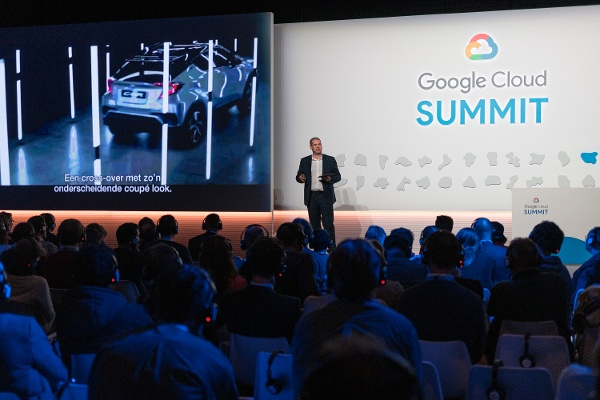 Google Cloud Summit Amsterdam Breakout Session