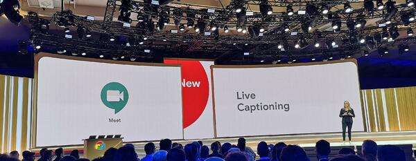 Google Next '19 live captioning announced