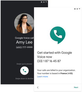 Google Voice Visual by Google Cloud