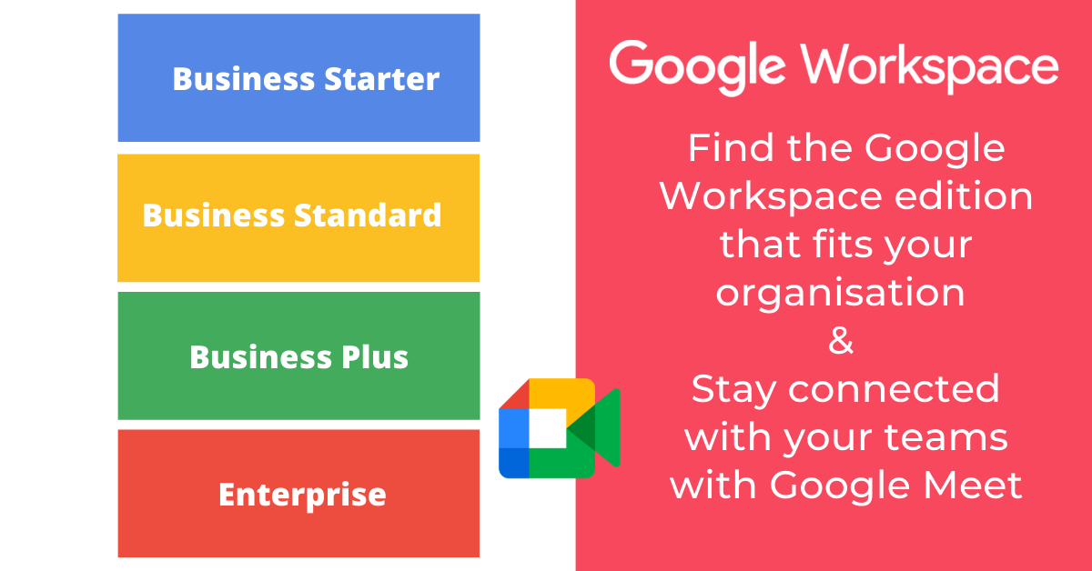 Google Workspace editions