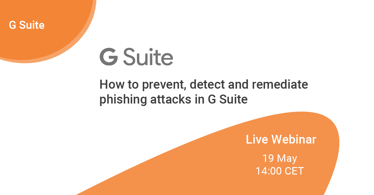 How to prevent, detect and remediate phishing attacks in G Suite_LINKEDIN post-1