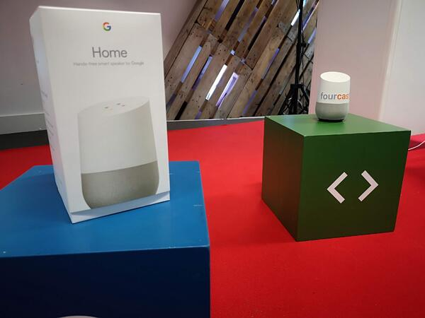 Google Home voice chatbot