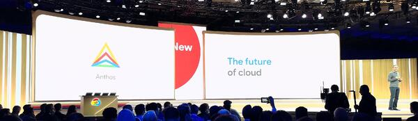 Anthos future of Cloud Next '19 SF