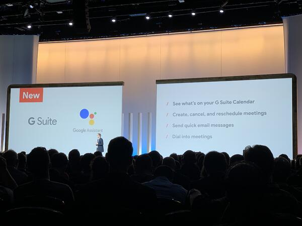 G Suite assistive features Google Next '19