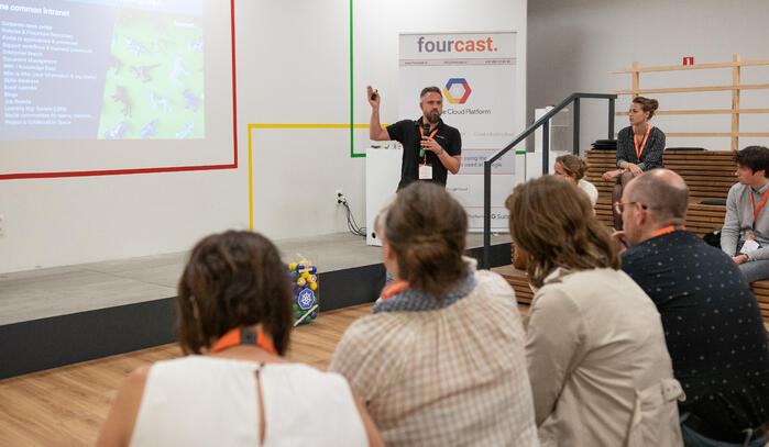 Rethink your comms event Brussels Fourcast 7/6