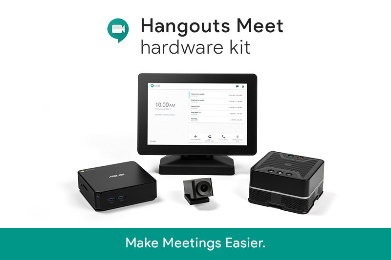 Hangouts Meet Hardware Kits