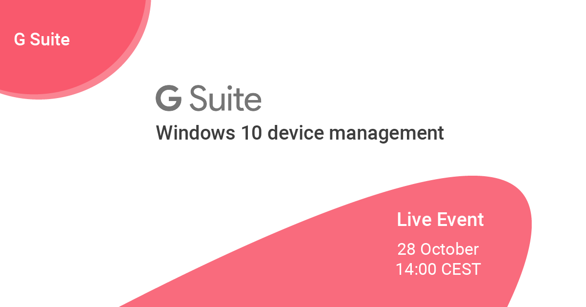Mobile Device Management Windows 10 - Online event by Fourcast by Devoteam