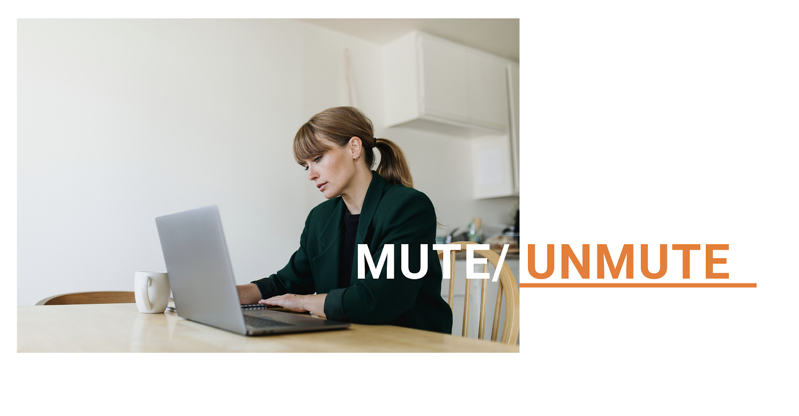Muteunmute yourself in a videoconferencing call