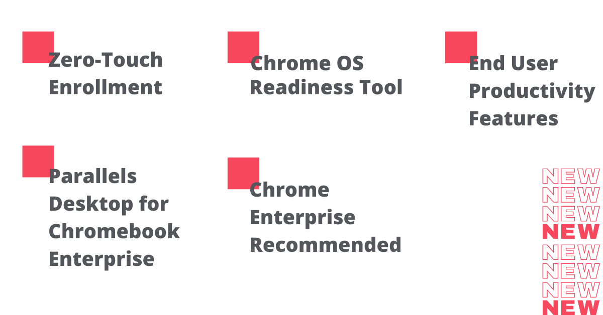 New Chrome OS Features