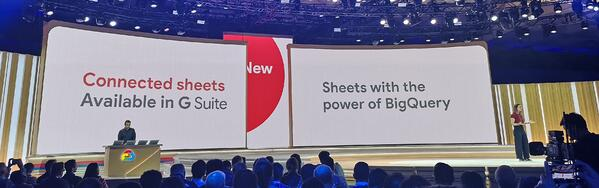 Next '19 SF Conneteds Sheets BigQuery