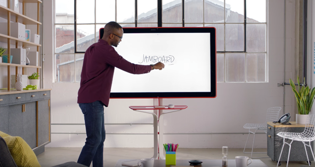 What is Google Jamboard? Video