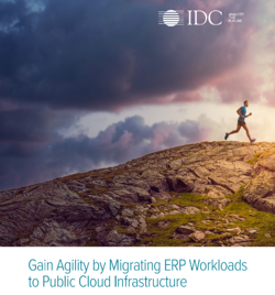 Migrating ERP workloads to public cloud infrastructure