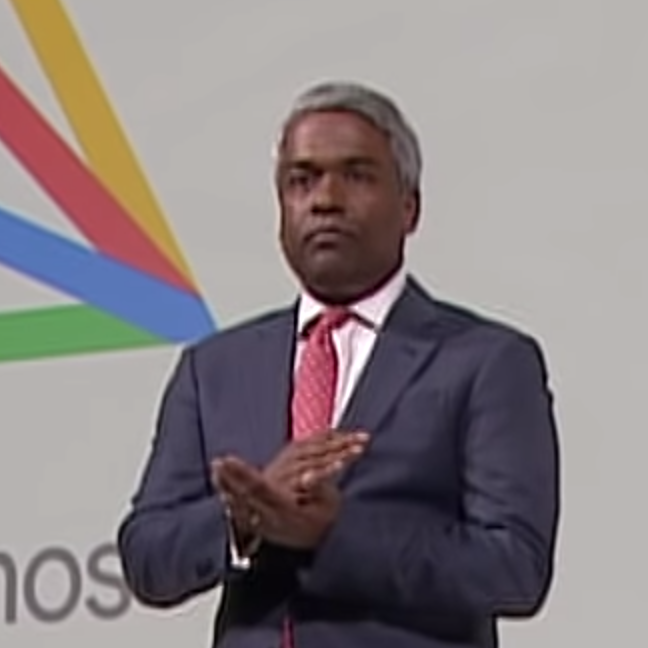 Thomas Kurian CEO Google Cloud on Anthos at Google Next London '19