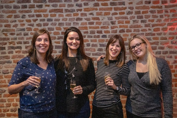 Women in tech team at fourcast