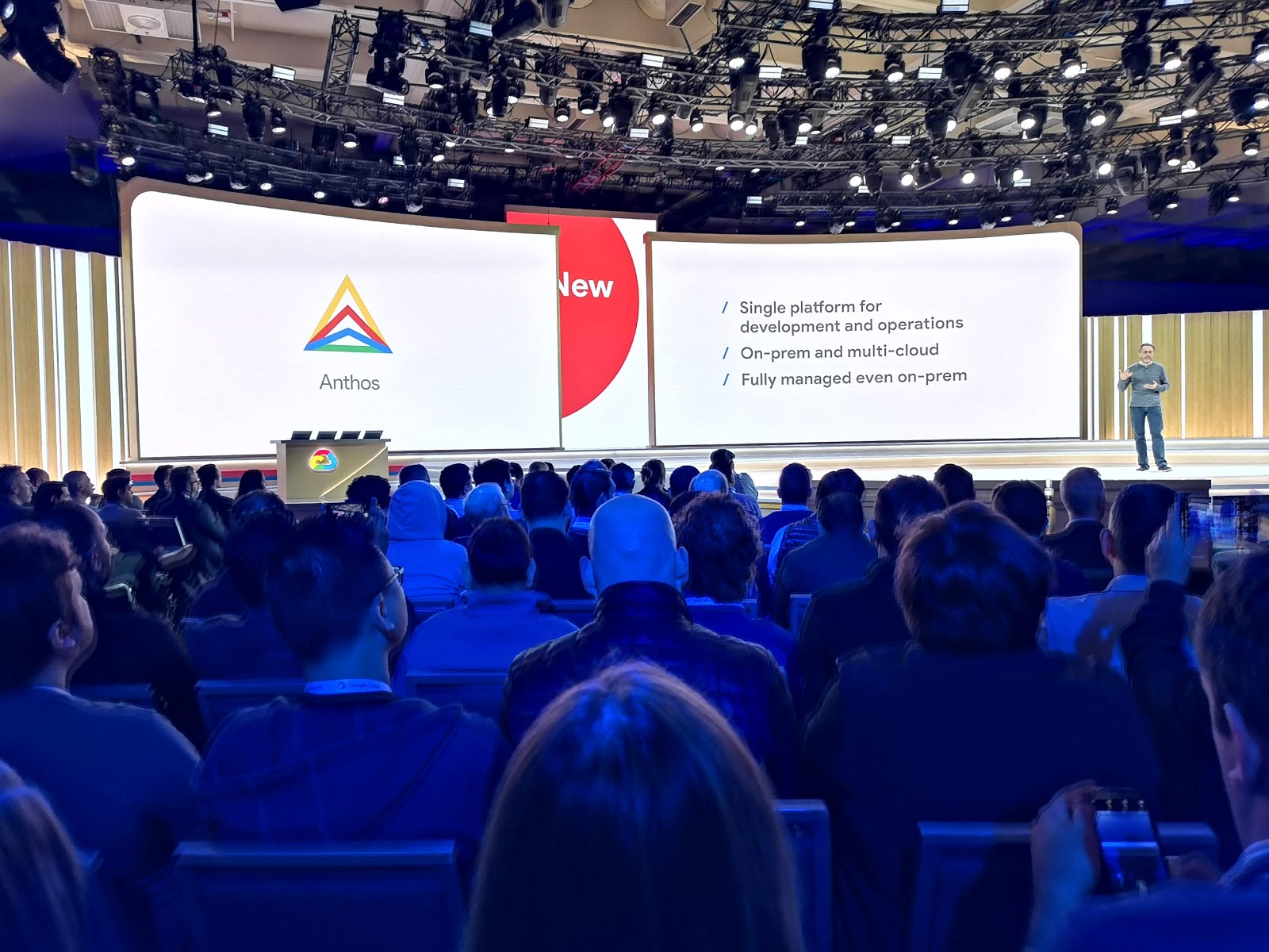 Anthos generally available google cloud next