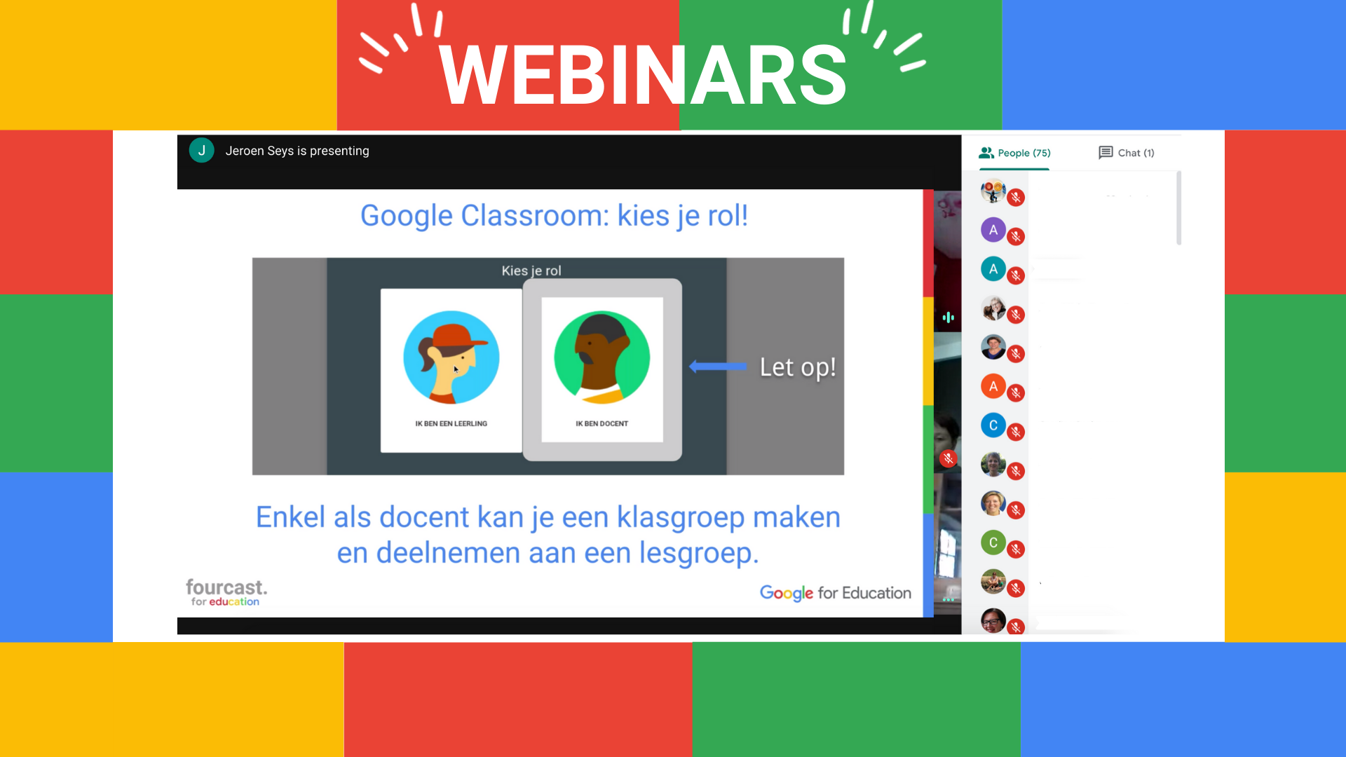 Full-house webinars