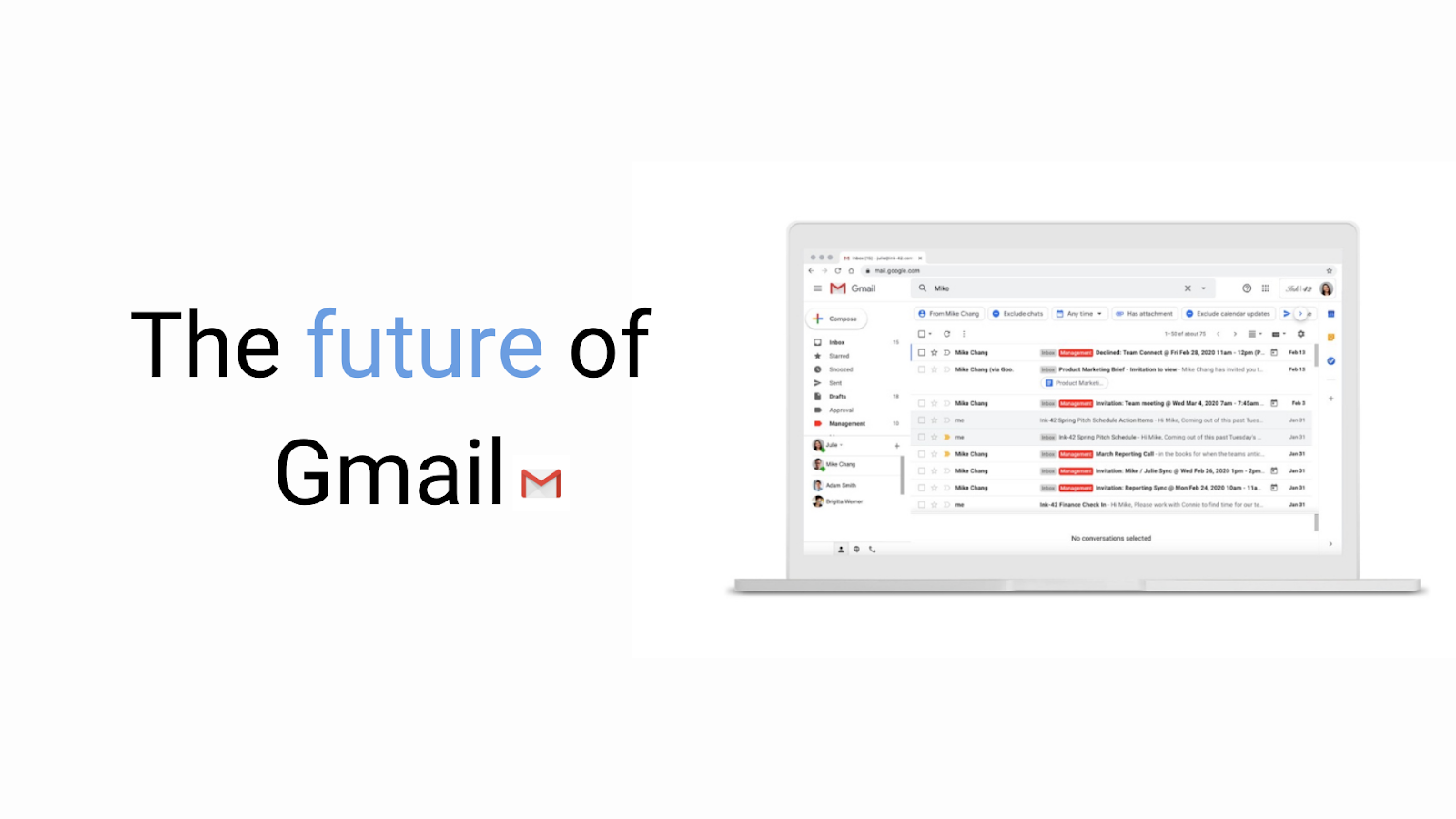 The future of Gmail