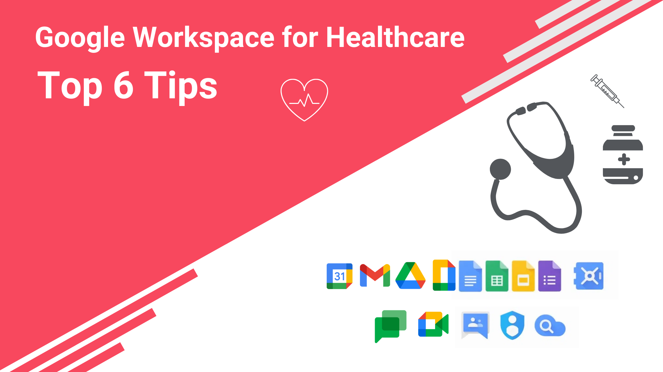 Google Workspace for healthcare