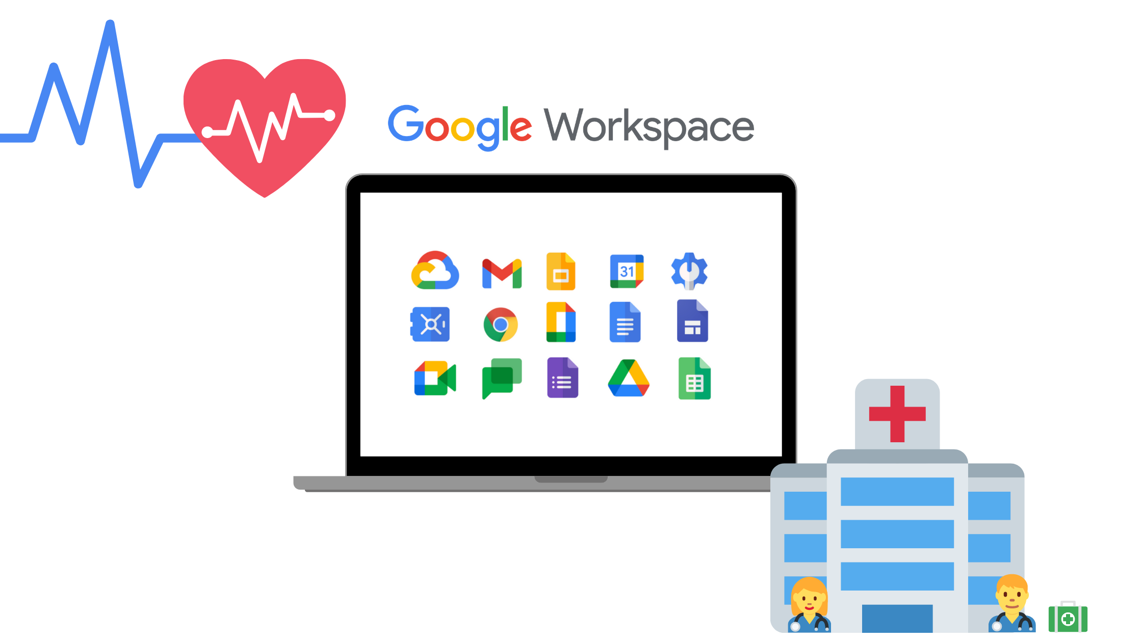 Google Workspace for your Healthcare organisation