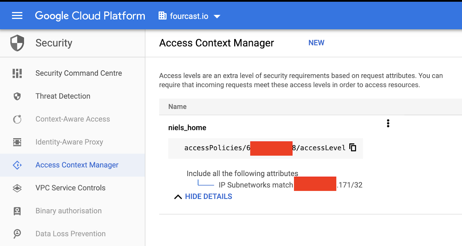Google Cloud Managed Services Firewall around your BigQuery or Bigtable environment with VPC Service Controls 4